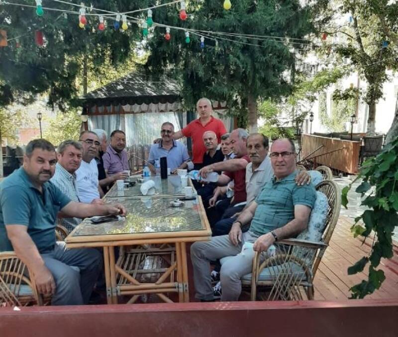 35 yıllık asker arkadaşlar Kırıkkale'de buluştu
