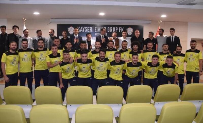 Kayseri EMAR Grup FK, yeni transferlerini duyurdu