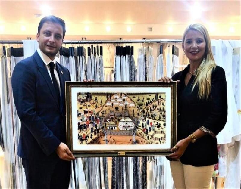 TÜGİAD Bursa Şubesi Başkanı Parseker'den Nilüfer Çevikel'e ziyaret