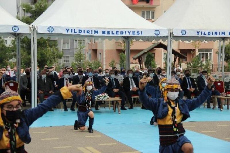 2020-2021 eğitim öğretim yılı ilköğretim haftası Bursa'da coşkuyla kutlandı