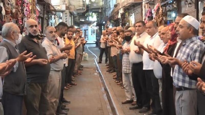 Şanlıurfa'da 'Esnaf duası' geleneği sürdürülüyor