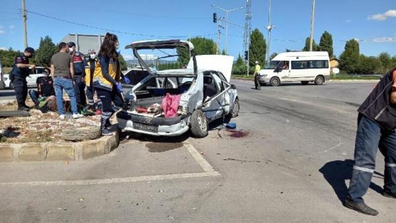 Gediz'deki kazada yaralana 2 polis memuru taburcu edildi