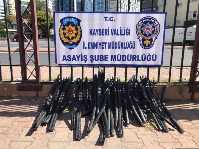Kayseri'de 'Erciyes Huzur' operasyonunda aranan 22 kişi yakalandı