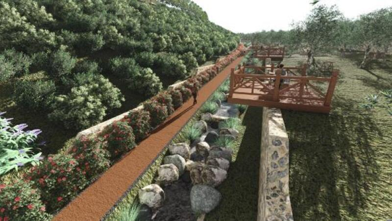 Büyükşehir'den kuraklığa karşı yağmur bahçeleri