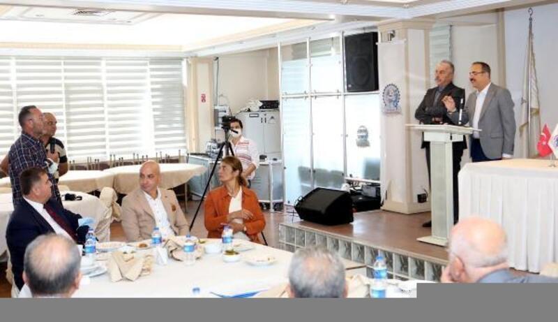 AK Partili Sürekli, sanayi esnafının dertlerini dinledi