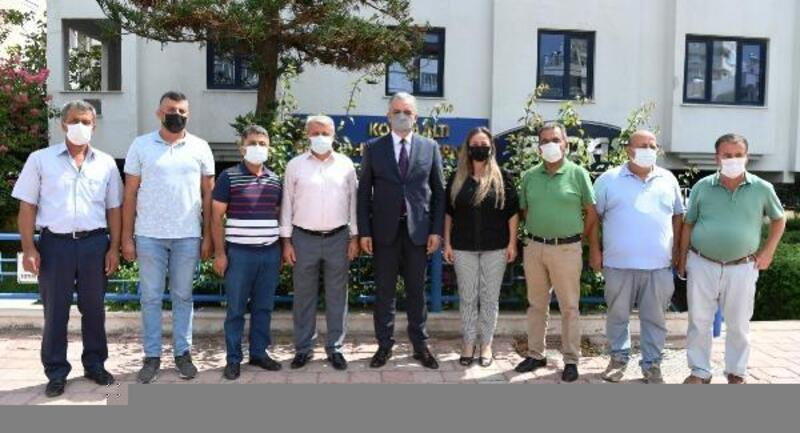 Başkan Esen'den Muhtarlar Derneği'ne tebrik ziyareti