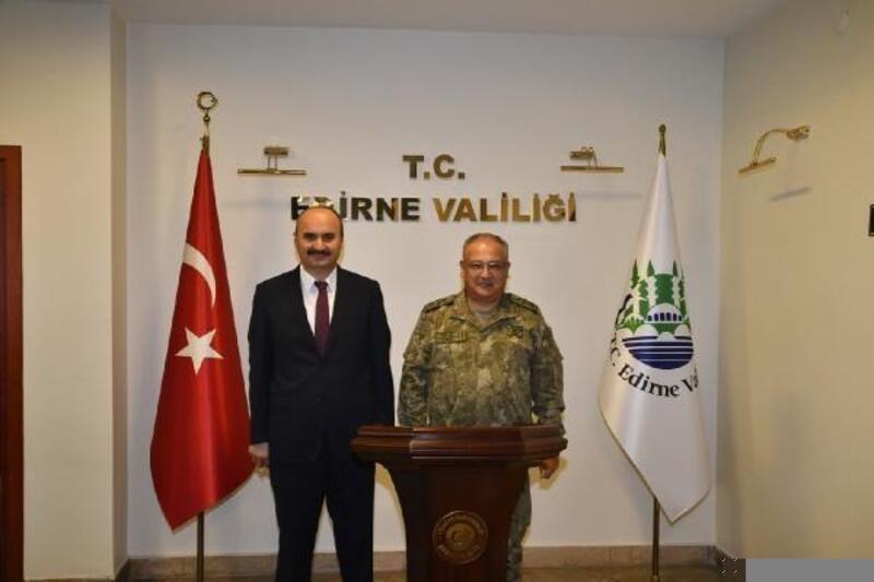 Korgeneral Kemal Yeni, Edirne'de
