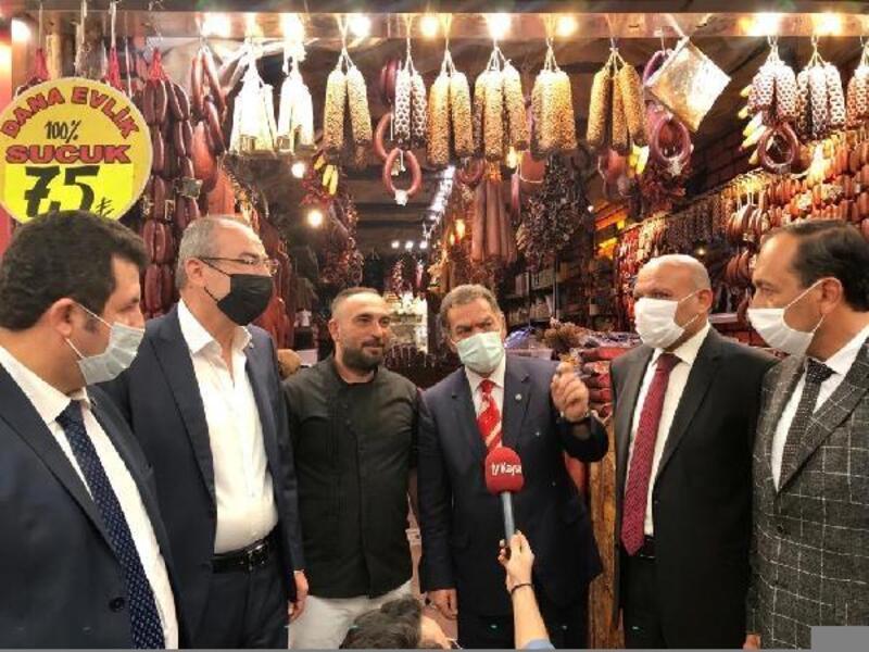 Kayseri'de en güzel vitrine sahip pastırmacıya ödül