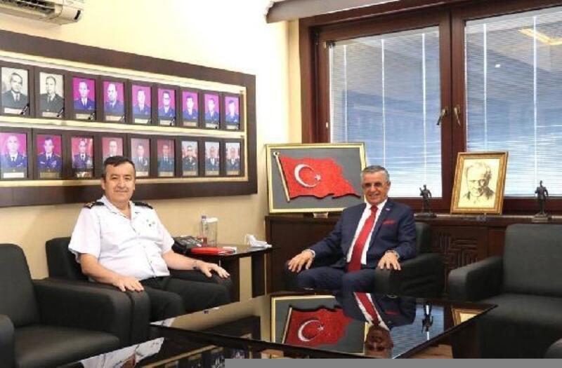 Başkan Topaloğlu'ndan, Özfidan'a ziyaret