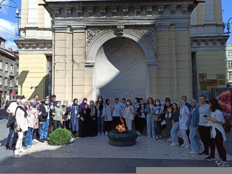 Başarılı gençler Bosna Hersek gezisiyle ödüllendirildi