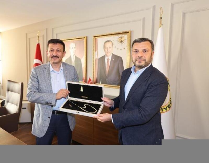 AK Parti Genel Başkan Yardımcısı Dağ, Başkan Kocaispir'i ziyaret etti
