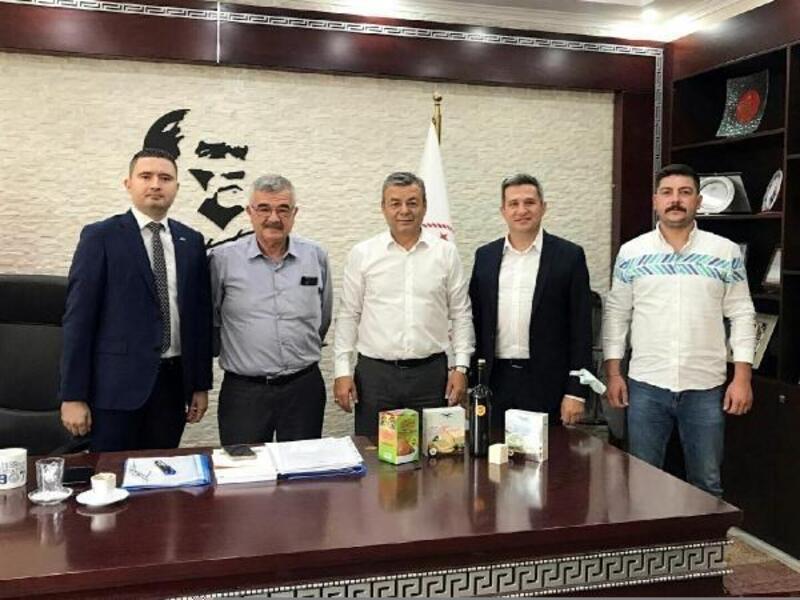 ÖTO Su Komisyonu'ndan İzmir İl Tarım ve Orman Müdürü Özen'e 'Kuraklık Raporu'
