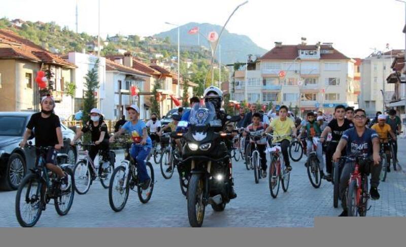 Bucak'ta Bisiklet Festivali yapıldı