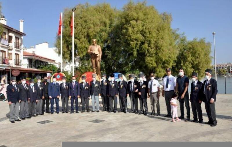 Datça'da Gaziler Günü törenle kutlandı