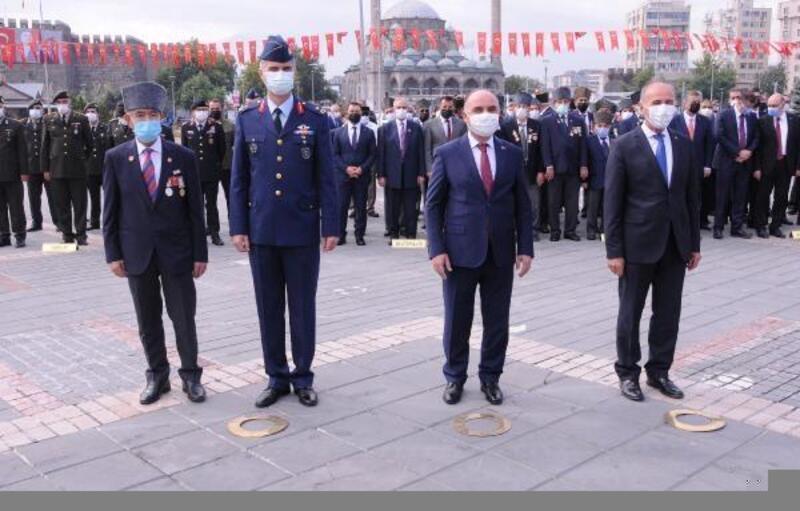Kayseri'de Gaziler Günü törenle kutlandı
