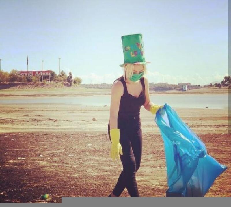 ABD Adana Konsolosluğu'ndan, Dünya Temizlik Günü'nde farkındalık temizliği