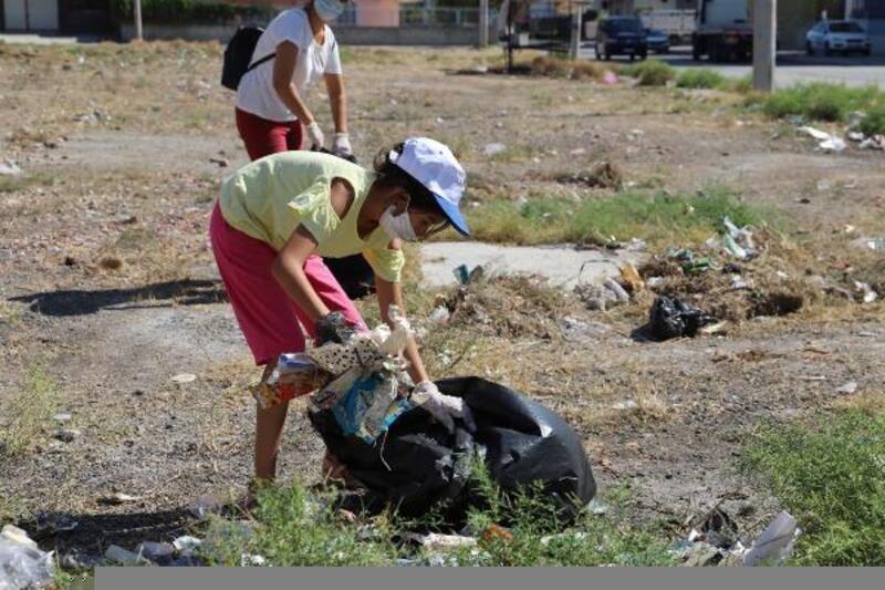 Temiz ve sağlıklı Akdeniz için seferber oldular