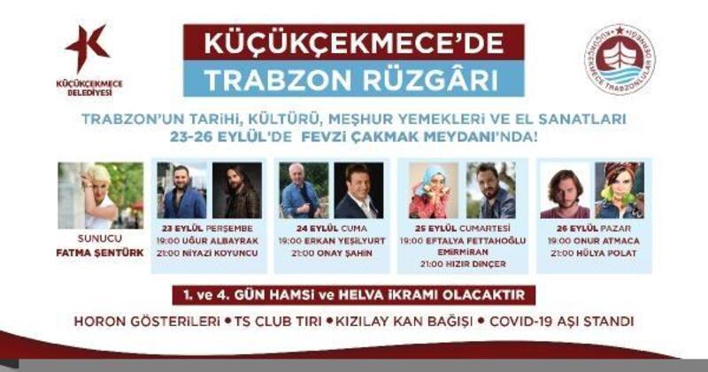 Küçükçekmece'de 'Trabzon Günleri' başlıyor