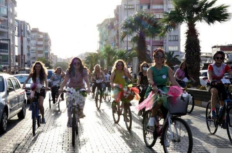 9. Süslü Kadınlar Bisiklet Turu Nazilli'de yapıldı
