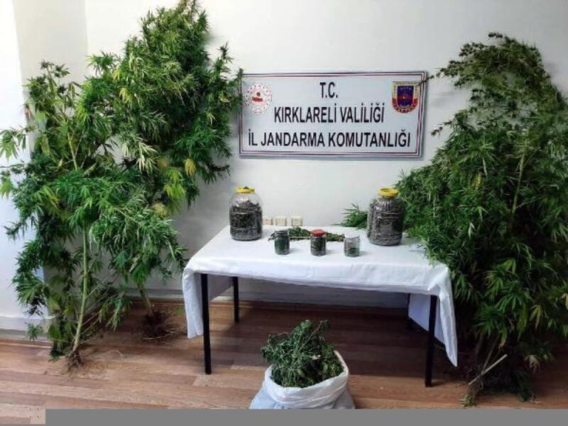 Kırklareli'de uyuşturucu operasyonu: 5 gözaltı