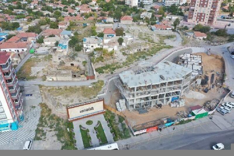Kocasinan'da kentsel dönüşüm çalışmaları sürüyor