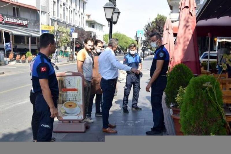 Süleymanpaşa Belediyesi'nden Değirmenaltı esnafına denetim