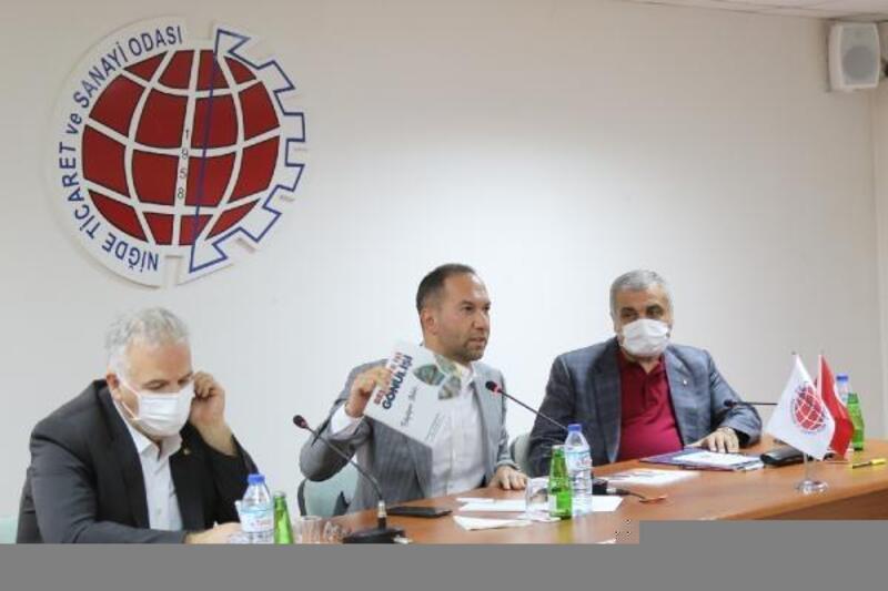 Başkan Özdemir, NİTSO'da icraatlarını anlattı