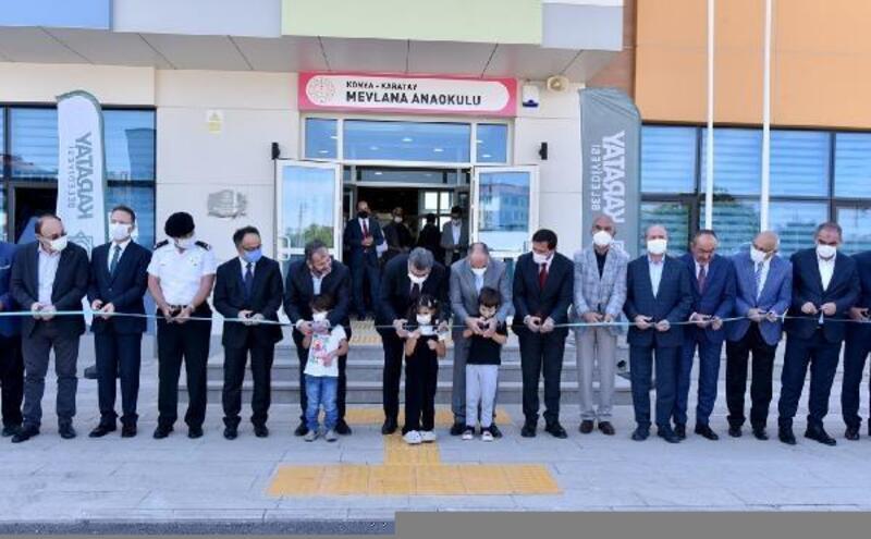 Karatay'da  2 yeni anaokulu eğitime açıldı
