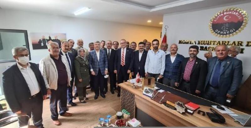 Meram Belediye Başkanı   vatandaşlarla bir araya geldi