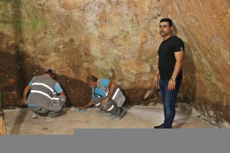 Sultan Şeyhmus'un 40 gün tek başına kaldığı mağara restore edildi