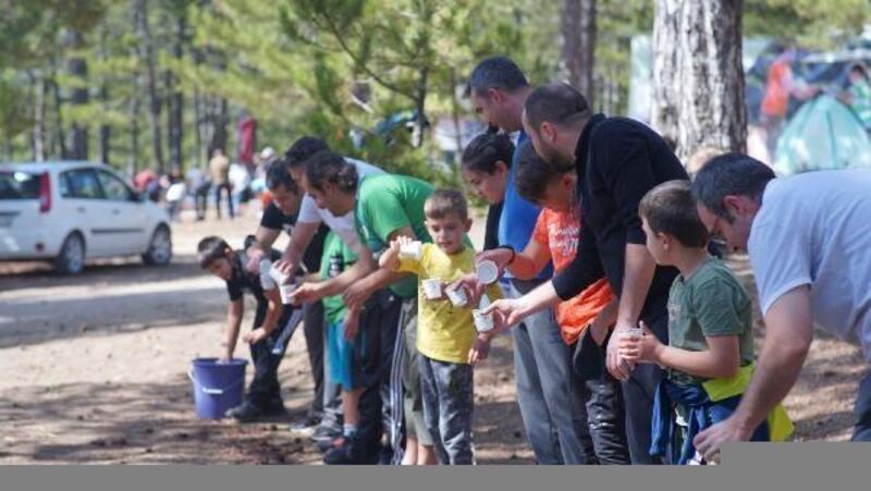 Konya Büyükşehir Belediyesinden baba-oğul kampı