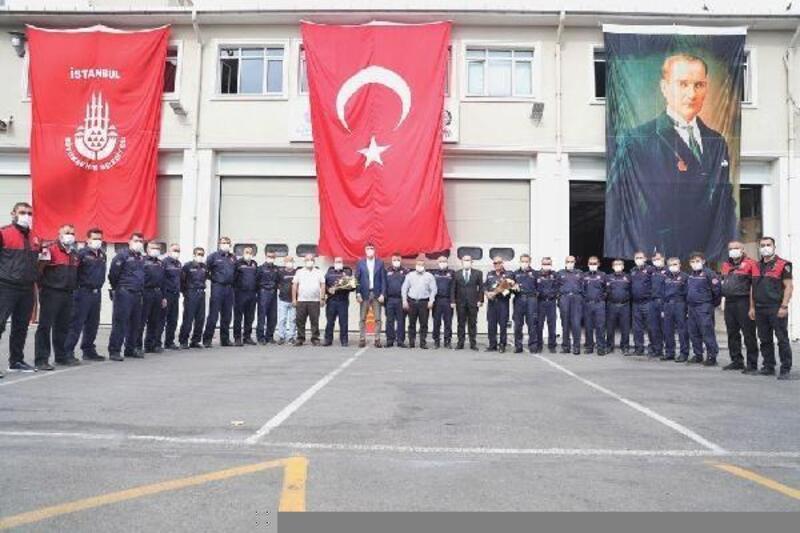 Kartal Belediye Başkanı Gökhan Yüksel'den Kartal İtfaiyesi'ne ziyaret