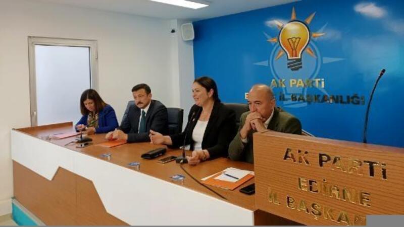AK Parti Genel Başkan Yardımcısı Dağ, Edirne teşkilatı ile buluştu