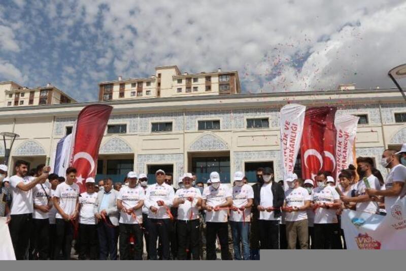 Şırnak'ta, 'Avrupa Hareketlilik Haftası' yürüyüşü