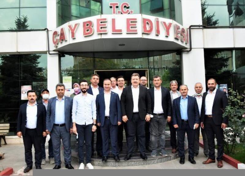AK Parti heyetinden Başkan Atlı'ya ziyaret