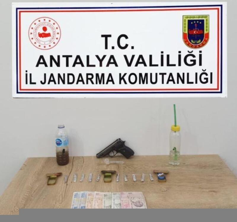 Manavgat'ta uyuşturucu baskını