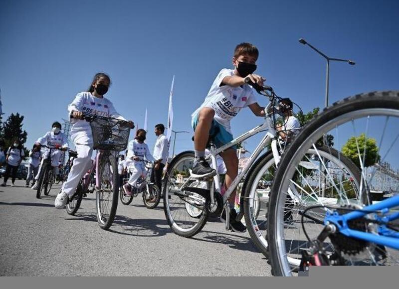 Avrupa Spor Haftası etkinlikleri kapsamında, bisiklet turu düzenlendi
