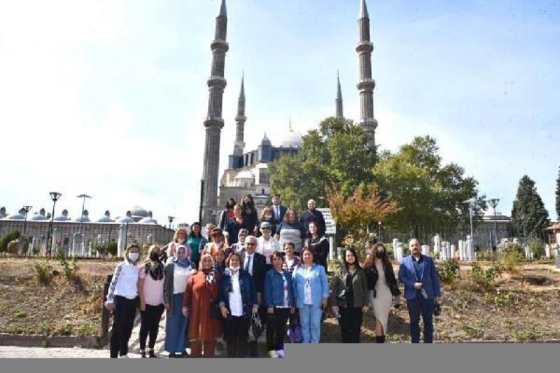 Keşan Belediyesi'nin, Edirne'ye kültür turları başladı