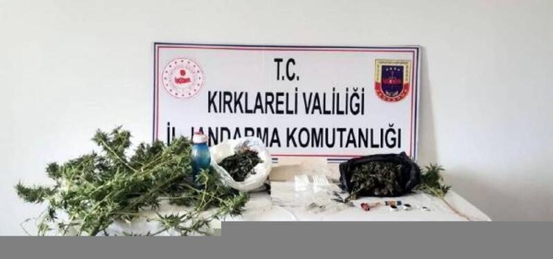 Kırklareli'de uyuşturucu operasyonu: 2 gözaltı