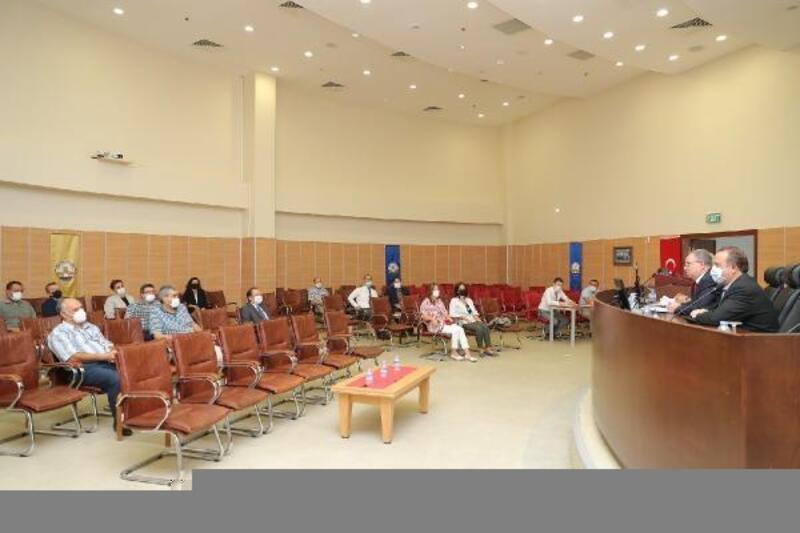Trakya Üniversitesi merkez müdürleri toplandı