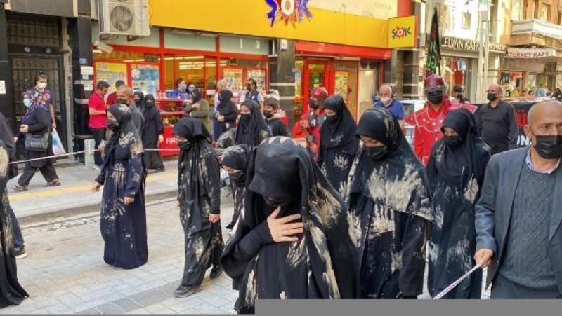 Turgutlu'da 'Erbain' yürüyüşü