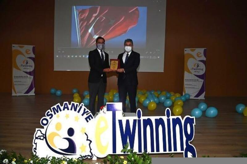 Osmaniye'de, eTwinning Projeleri başarı ödülleri verildi