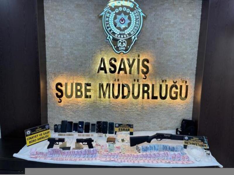Gasp ve adam kaçırma olayının ardından uyuşturucu çetesi çıktı: 5 tutuklu
