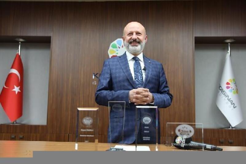 Kocasinan Belediyesi'ne TKB'den ödül