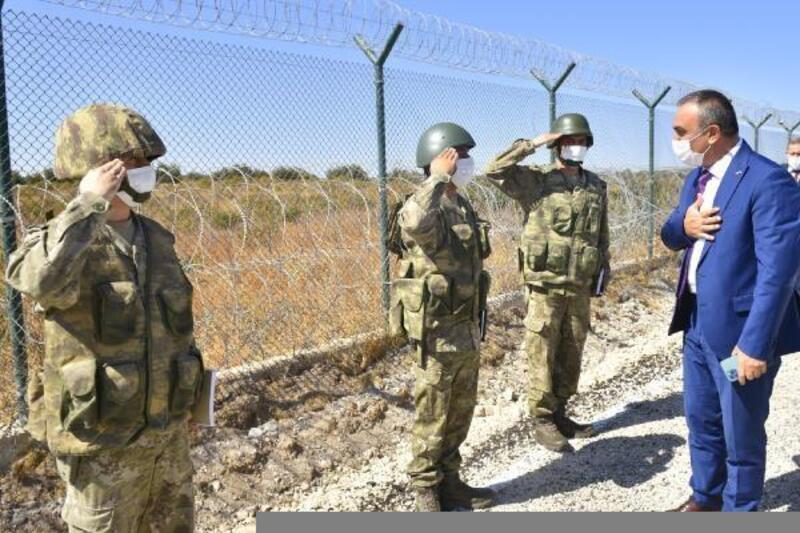 Kilis Valisi, Suriye sınır hattında inceleme yaptı