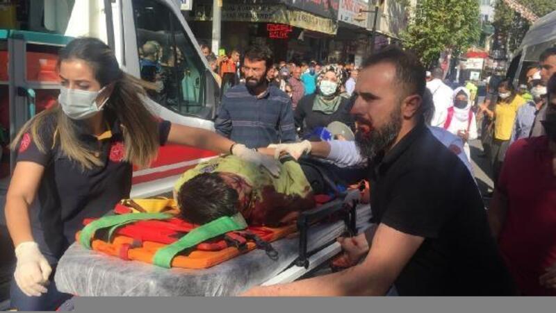 Öğrenci servisinin çarptığı öğrenci yaralandı