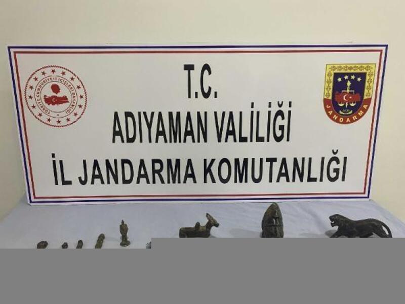 Adıyaman'da tarihi eser kaçakçılığı operasyonu