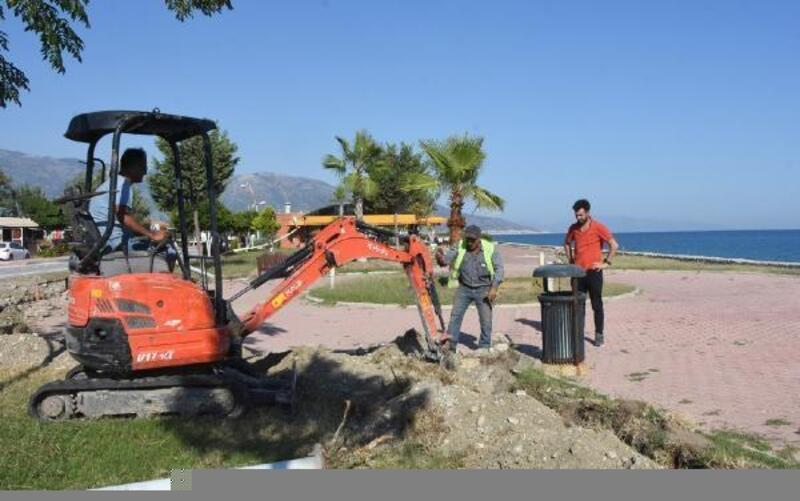 Sahil Park büyütülüp yenileniyor