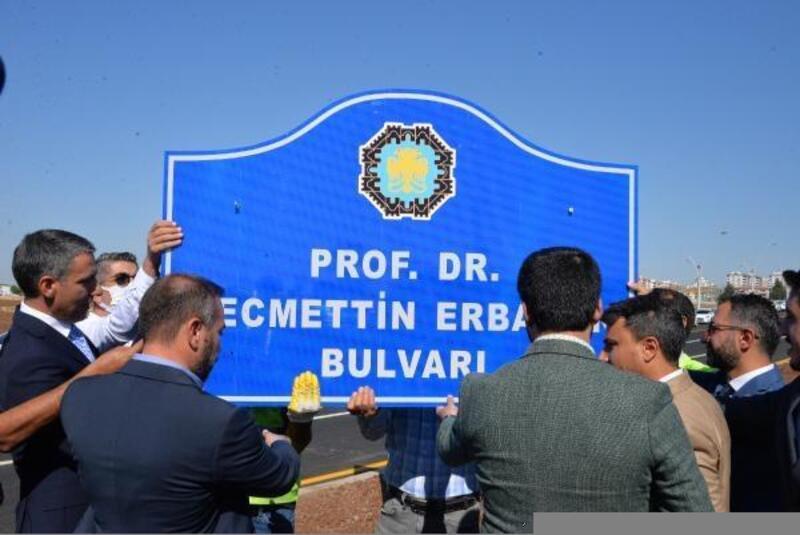 Necmettin Erbakan'ın ismi, Diyarbakır'daki bulvara verildi