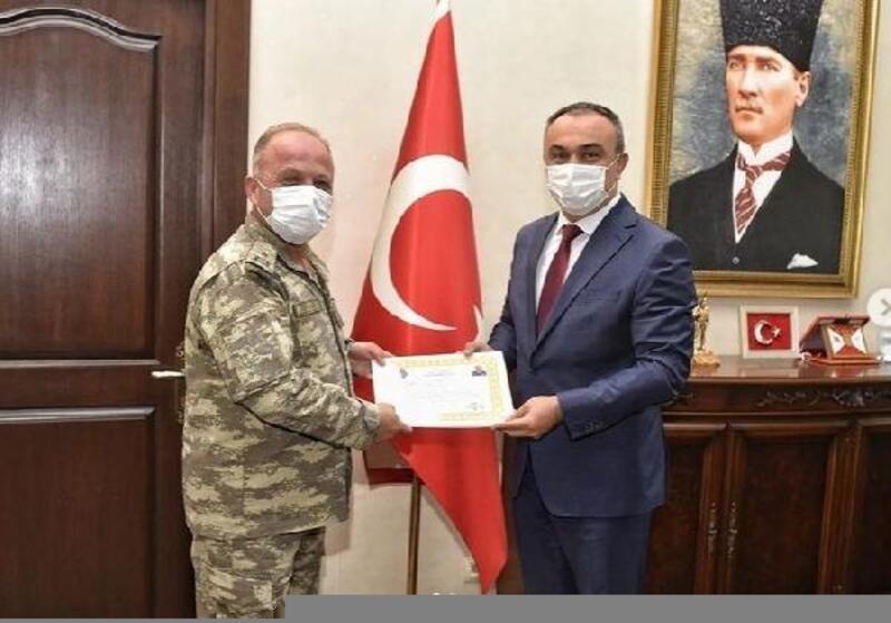 Tuğgeneral Oruçoğlu'ndan Vali Soytürk'e ziyaret